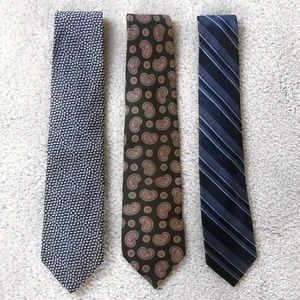Set of 3 Ties